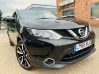 2016 Nissan Qashqai 1.2 DIG-T Tekna Xtronic CVT 5dr SUV Petrol Automatic