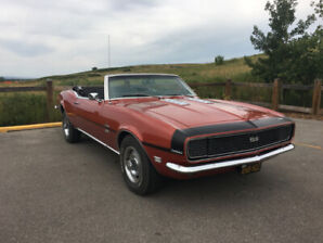 1968 Camaro SS/RS 396 convertible - All Original