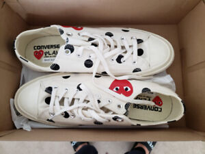 b1202b726671 BRAND NEW CONVERSE PLAY CDG (Comme des GARCONS)