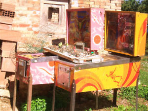 Wanted looking for pinball machines