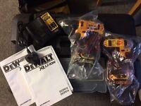 Dewalt impact drill & drill driver set