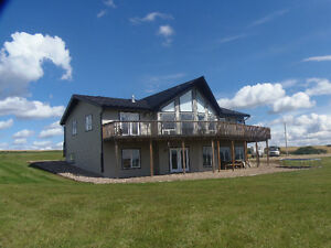 Beautiful home on 5 acres in Red Deer County. JUST REDUCED!