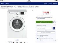 Beko Washing Machine WTB741R2W