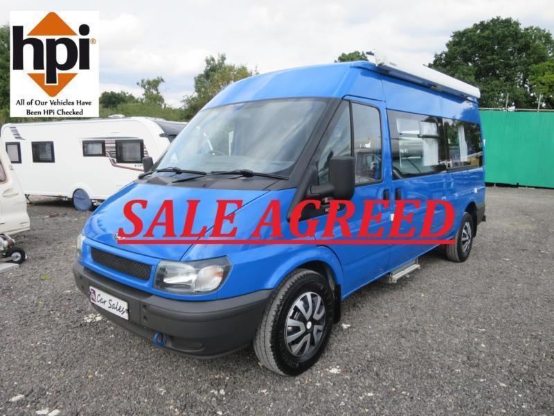 38fbcd619fb835 Ford TRANSIT 350 LWB 2 Berth Campervan