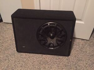 "10"" inch energy subwoofer in box"