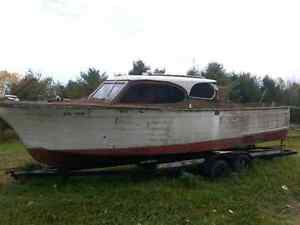 1957 Chris Craft wooden boat, winter project  London Ontario image 3