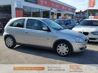 VAUXHALL CORSA DESIGN 16V TWINPORT, Silver, Manual, Petrol, 2005