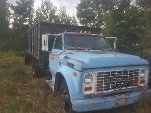 Grain / stock / water truck