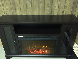 Beautiful electric fireplace