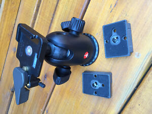 Manfrotto Midi Ball Head 498RC2 with 2 plates