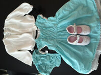 Baby girl dress outfit