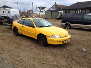 2002 Chevrolet Cavalier VL Coupe (2 door)