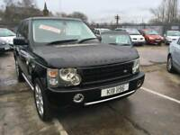 Land Rover Range Rover 3.0 Td6 auto 2004MY Vogue BLACK WITH CREAM LEATHER