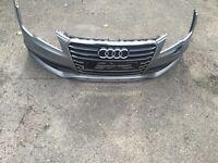 Audi a7 front bumper s line quattro complete part