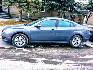 2010 Mazda6 GS Sedan - Great on gas, Low KMs