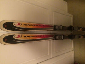 Rossignal ED two stage short cut downhill skis 150 cm Edmonton Edmonton Area image 1