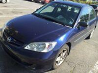 Honda Civic 2005  **Excellent shape**