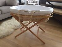 The White Company Moses Basket