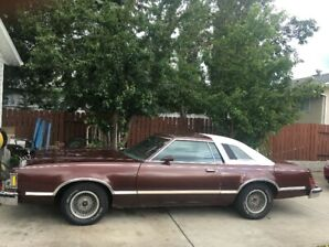 1979 Cougar XR7 LOADED. Parked in 99 until 2019 with 141000 KM