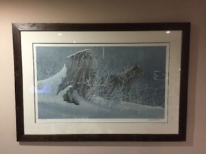 Robert Bateman--Winter Tracker