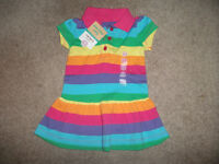 Carters 9 mth Dress- Brand new with Tags