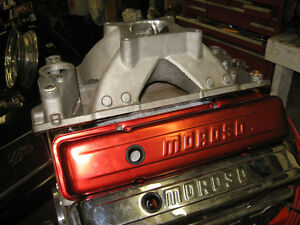 SBC MOROSO VALVE COVERS