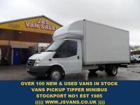 2011 11 FORD TRANSIT 350 LWB LUTON BOX VAN + TAILIFT T350 140 BHP DIESEL