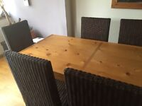 Dining room table & 6 chairs - Free