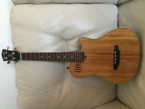 Tenor Electric Acoustic Ukulele