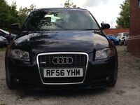AUDI A3 2006 S-LINE SPORT BACK DSG AUTO FULL LEATHER