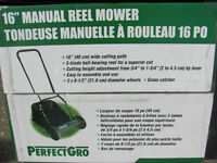 "16"" Manual Reel Mower"