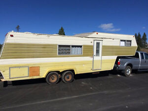 MUST SELL!!! 1975 30' Prowler 5th Wheel