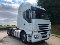 2013 63 Iveco Stralis 450 Euro5 6x2 mid lift/steer sleeper cab tractor unit