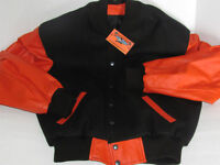 DEEP FREEZE BLOW OUT...HARLEY COLOURS LEATHER JACKET