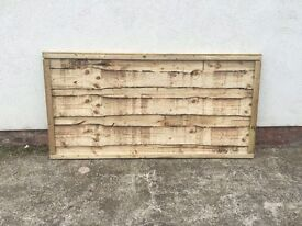🔨🌟The Finest Quality New Waneylap Pressure Treated Garden Fence Panels