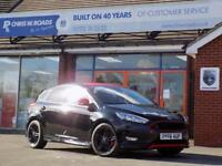 2016 66 FORD FOCUS 1.5 ZETEC S BLACK EDITION 5DR (180) SAT NAV HUGE SPEC
