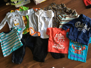 3-6 Month Baby Boy Clothing