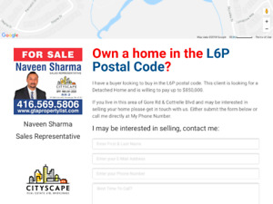 Home For Sale Wanted By Owner in Gore Rd/Cottrelle Brampton