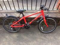 Frog 55 Kids Hybrid Bike ( 6 - 7 years ) Lightweight Aluminium Red Unisex