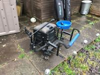 Seat box with accessory rod hold-all's and trolley