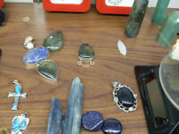 Lots of unique jewelry in many different styles. All affordable!