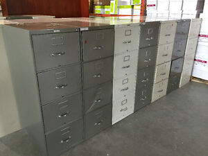 4 Drawer Legal Vertical Filing Cabinets