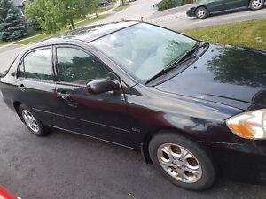 2006 Toyota Corolla CE with sunroof