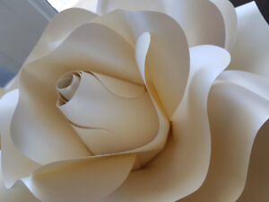 Large Paper Rose