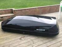 Exodus large roof box hire thule HIRE ONLY NOT FOR SALE price per week