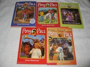 PONY PALS - CHAPTERBOOKS - NICE SELECTION
