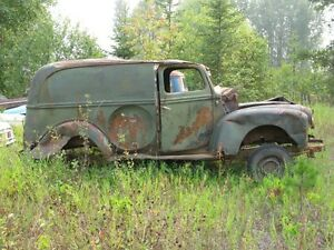 1947 FORD SEDAN DELIVERY..... selling as a parts truck