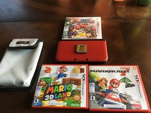 Nintendo 3DS XL with 3 games and R4