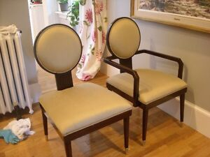 HIGH END MID CENTURY STYLED CHAIRS