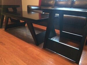 Matching Coffee Table with 2 End Tables